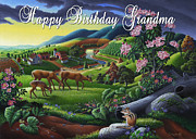 Tennessee Farm Originals - no20 Happy Birthday Grandma by Walt Curlee