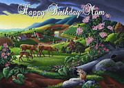 Tennessee Farm Originals - no20 Happy Birthday Mom by Walt Curlee