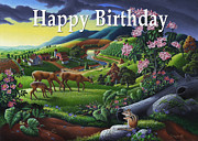 Tennessee Farm Originals - no20 Happy Birthday by Walt Curlee