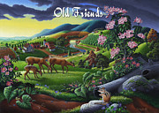 Tennessee Farm Originals - no20 Old Friends by Walt Curlee