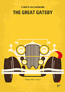 Great Digital Art - No206 My The Great Gatsby minimal movie poster by Chungkong Art