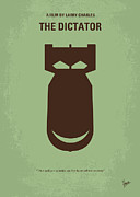 New York Digital Art Metal Prints - No212 My The Dictator minimal movie poster Metal Print by Chungkong Art