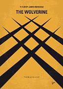 No222 My Wolverine Minimal Movie Poster Print by Chungkong Art