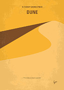 Galactic Digital Art - No251 My DUNE minimal movie poster by Chungkong Art