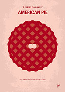 No262 My American Pie Minimal Movie Poster Print by Chungkong Art