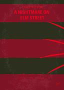 No265 My Nightmare On Elmstreet Minimal Movie Poster Print by Chungkong Art