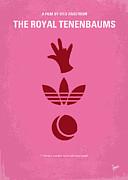 No320 My The Royal Tenenbaums Minimal Movie Poster Print by Chungkong Art