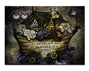 Religious Art Photo Metal Prints - Noahs Ark Metal Print by La Rae  Roberts