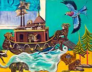 Noah's Ark Second Voyage Print by Susan Culver