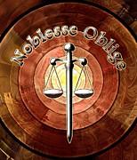 Noblesse Oblige Print by Anastasiya Malakhova