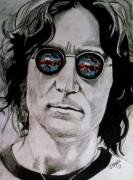 Beatles Drawings Originals - Nobody Told Me by Jeremy Moore