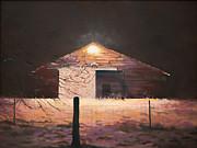 Rebecca Matthews - Nocturnal Barn