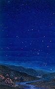 Nocturnal Landscape Print by Francois-Louis Schmied