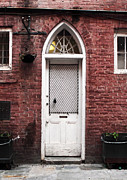 French Door Prints - NOLA Door Print by John Rizzuto