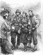 Uniforms Drawings - Noncombatants  2005 by Andrew Standeven