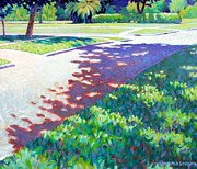Street Painting Originals - Noon by Kevin Lawrence Leveque