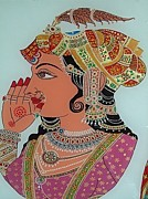 Traditional Glass Art - Noor by Prachi Arora