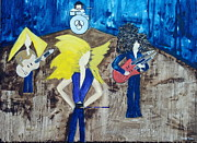 Robert Plant Paintings - Nope Not Fleetwood Mac by Stuart Engel