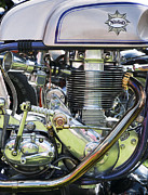 Racer Photos - NorBsa Engine by Tim Gainey