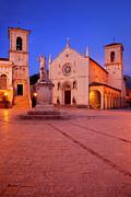 Norcia Umbria Print by Brian Jannsen