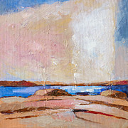 Nordic Paintings - Nordic Seascape by Lutz Baar