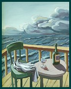 Stormy Weather Paintings - Noreaster by Tom Willis