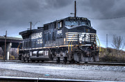 Kreuz Prints - Norfolk Southern #8960 Engine 02 Print by J M L Patty