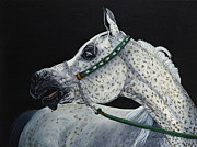 Horse Drawings - Norlonna by Lana Tyler