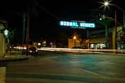 Crosswalk Photos - Normal Heights Neon by John Daly