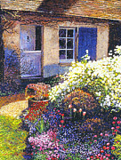 Gardenscape Paintings - Normandy Spring by David Lloyd Glover