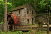 Douglas Stucky Metal Prints - Norris Dam Grist Mill Metal Print by Douglas Stucky