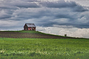 Red Barn. New England Prints - North 40 Print by Jeff Folger