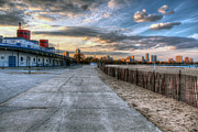 Steven K Sembach  - North Ave. Beach Sunset