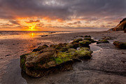 Rocky Coast Photos - North Beach Rock by Peter Tellone
