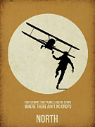 Movie Posters Framed Prints - North by Northwest Poster Framed Print by Irina  March
