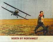 Cary Posters - North By Northwest Poster by Robert Harmon