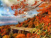 Scenic Drive Photo Posters - North Carolina  Poster by Darren Fisher
