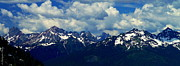 Christopher Fridley Prints - North Cascades Print by Christopher Fridley