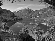 National Mixed Media Posters - North Cascades National Park - Diablo Lake Poster by Photography Moments - Sandi