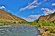 North Fork Of The Shoshone River Print by Janice Rae Pariza
