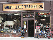 North Idaho Posters - North Idaho Trading Company Poster by Daniel Hagerman