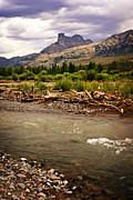 Marty Koch Photo Acrylic Prints - North of Dubois 2 Acrylic Print by Marty Koch