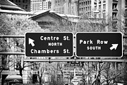 Chambers Photos - North or South 1990s by John Rizzuto
