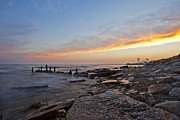 Www Prints - North Point Sunset Print by CJ Schmit