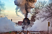 Boiler Photo Originals - North Pole Express by Brian Lambert