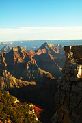 Depressions Posters - North Rim Of The Grand Canyon Poster by Jeff  Swan
