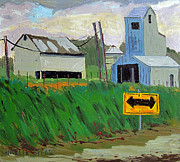 Rural Scene Originals - North Side Of Lost Bridge  by Charlie Spear
