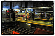 Mbta Prints - North Station Print by Mike Martin