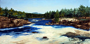 Laura Tasheiko - North Woods River Rapids