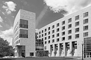 Building Exterior Art - Northeastern University O Bryant African American Institute by University Icons